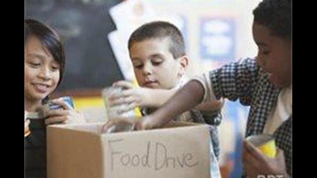 Teaching kids to give back