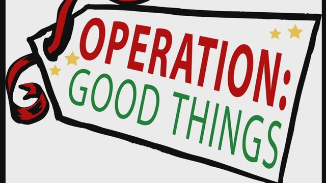 Operation Good Things has returned!