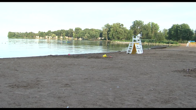 Oneida Shores Beach reopened for swimming