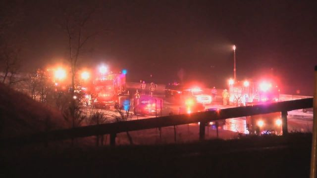 Driver ticketed after serious crash on Victor Thruway exit