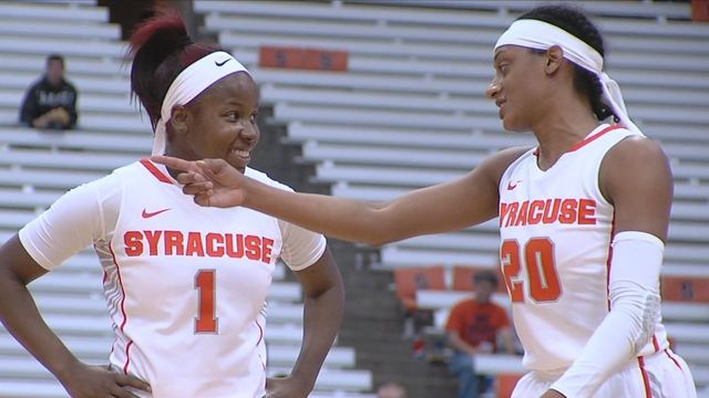 19th-ranked Syracuse women rout Niagara 109-60 for fourth straight win