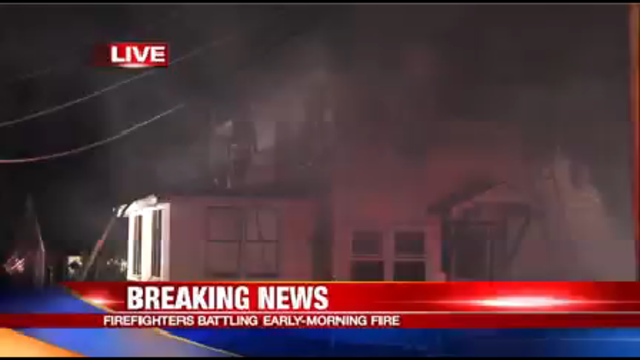 Two people hospitalized for smoke inhalation after fire