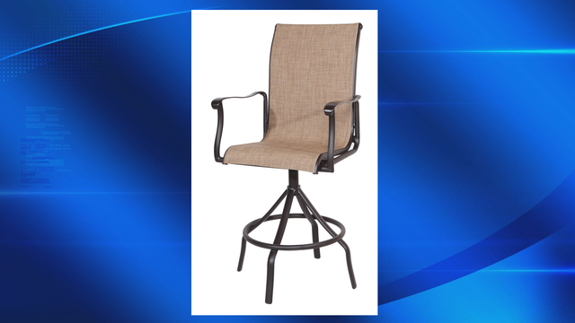 Fall hazard prompts recall of bar stools sold at Lowe's
