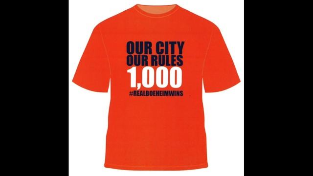 T-shirts celebrating Coach Boeheim's 1,000th win available for order