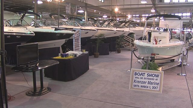 CNY boat show runs through this weekend