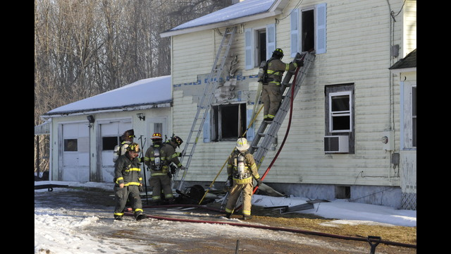 Crews respond to house fire in the Town of Volney