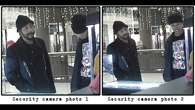 Troopers trying to identify two people in identity theft investigation