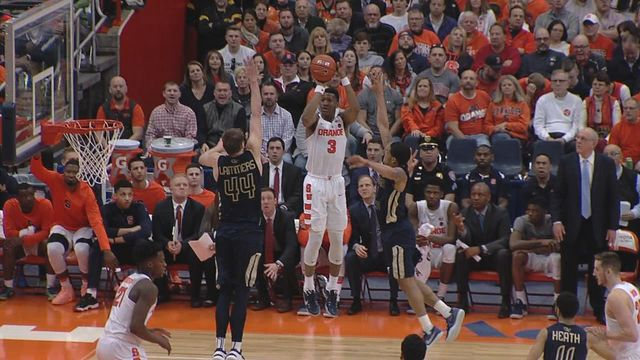 White's career day leads Syracuse to rout of Georgia Tech