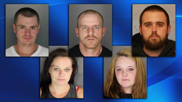 5 arrested for allegedly making meth out of Cortland motel room