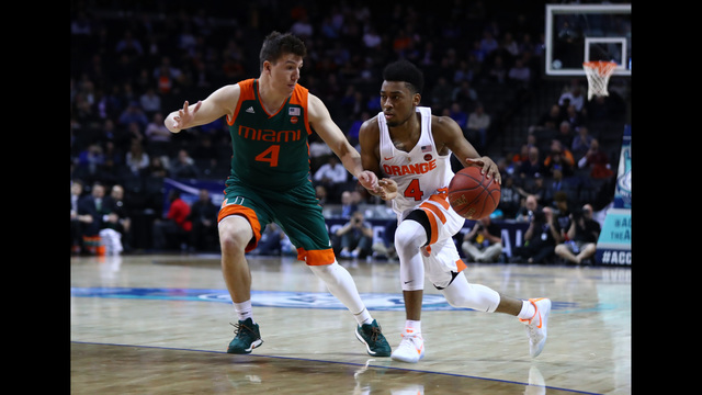 Photos: SU falls to Miami in the second round of the ACC Tournament