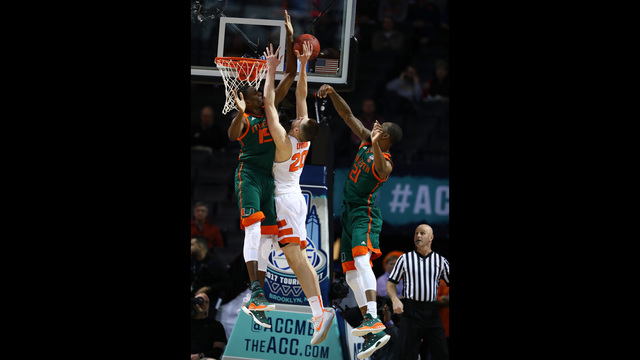 Tyler Lydon in the ACC Tournament