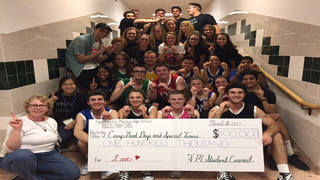 F-M students raise $100k for Camp Good Days and Special Times