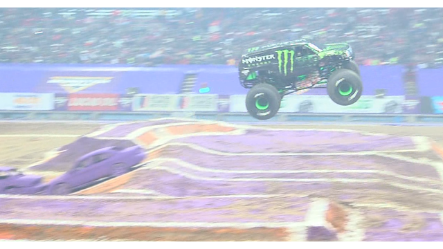 Monster Jam at the Dome nearly sold out