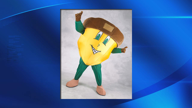 ESF's 'Oakie the Acorn' wins SUNY Mascot Madness Championship