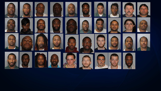52 charged in CNY drug bust, including 30 alleged Bricktown Gang members