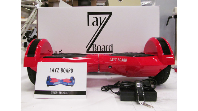 'Urgent warning' issued for potential dangers of Lay-Z Board hoverboards