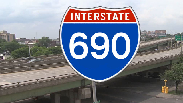 Construction on 690 at Teall Ave., Beech St. to begin today