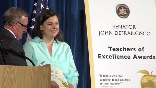 Central New York educators honored as