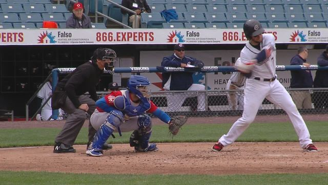 Syracuse Chiefs snapped a five-game losing streak with an 8-4 win over Buffalo Bisons