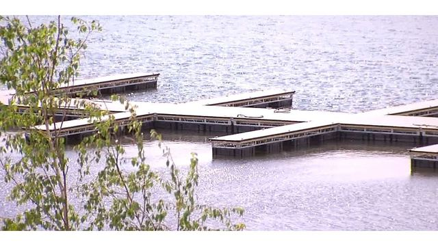 Docks at the Lakeview Amphitheater nearly complete