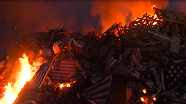 Watchfire to be held for worn American flags