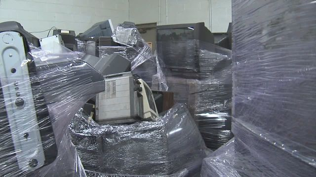 Find out where you can recycle old TVs, computers on Saturday