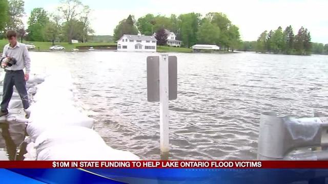Projection: Lake Ontario water levels to drop 3 inches by July