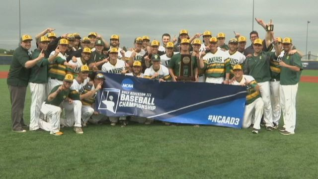 Oswego State knocks off Southern Maine 9-4 to win the D3 New York Regional Championship