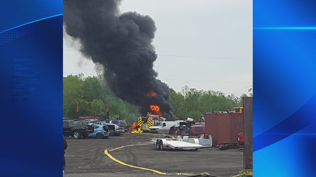 Police: Welding spark likely ignited Cicero fire
