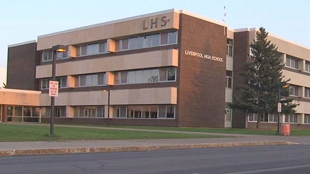 Helicopter landing at Liverpool HS on Tuesday is part of an 'educational program'