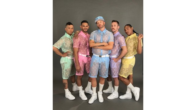 'Lacey Shorts' hoping to be the summer's hottest trend for men