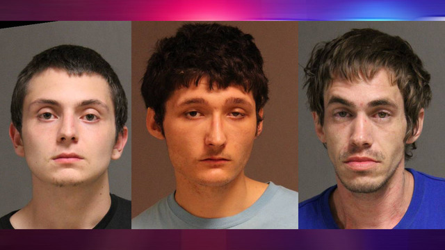 3 arrested on meth charges after Rome traffic stop
