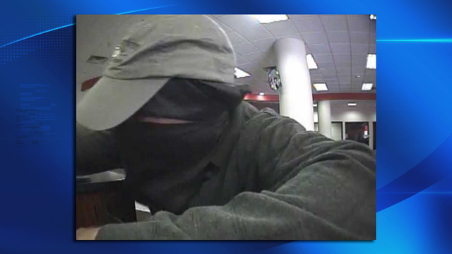Utica Police looking for bank robbery suspect