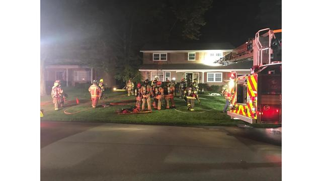 Several fire departments called to kitchen fire in Manlius