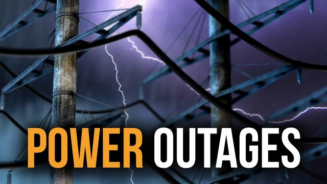 Thousands without power in CNY