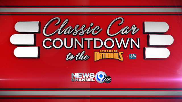 Classic cars countdown to the Syracuse Nationals