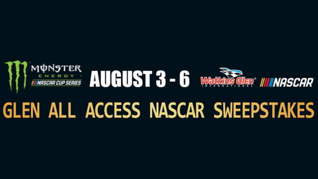 Enter to win the Glen VIP Experience!