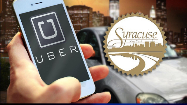 What are the most popular drop off spots for Uber in Syracuse?