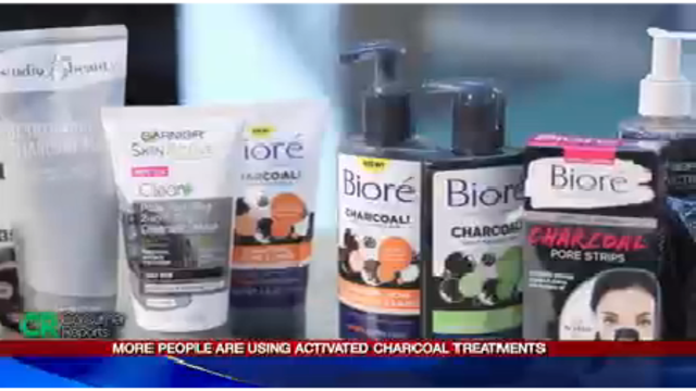 Activated charcoal health and beauty trend check: Consumer Reports