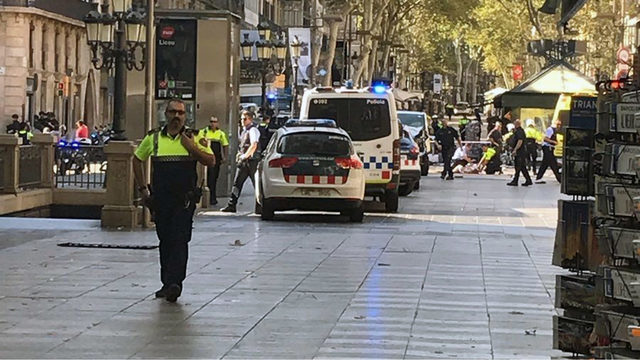 Reports: Barcelona death toll at 13, 2 suspects arrested
