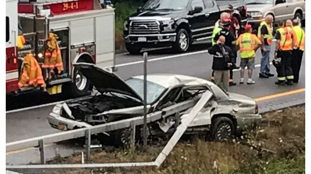 Toddler killed in I-81 accident
