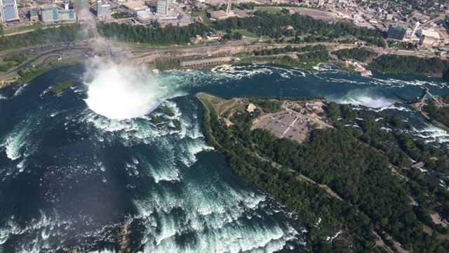 Another sewage discharge occurs in Niagara River
