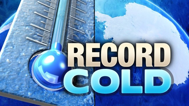 Brr! Another morning of record cold temperatures