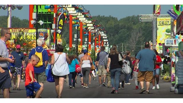 What brings people to the Fair on the final day?