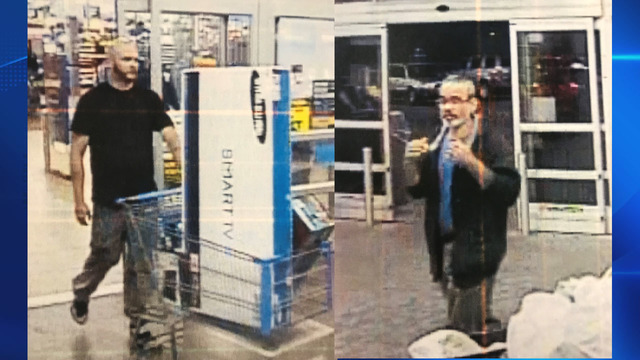 State Police trying to ID suspected Granby Walmart thieves