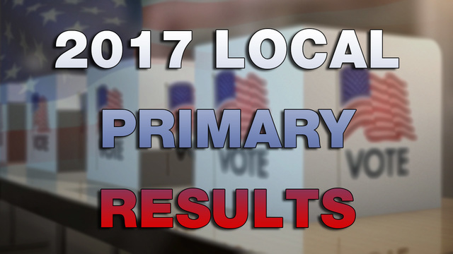 2017 Local Primary Election Results