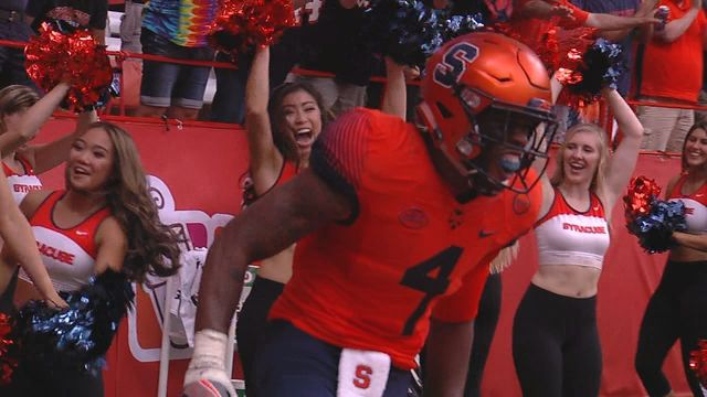 Syracuse runs their way past Central Michigan
