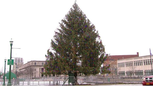 Do you have the next Clinton Square Christmas Tree?