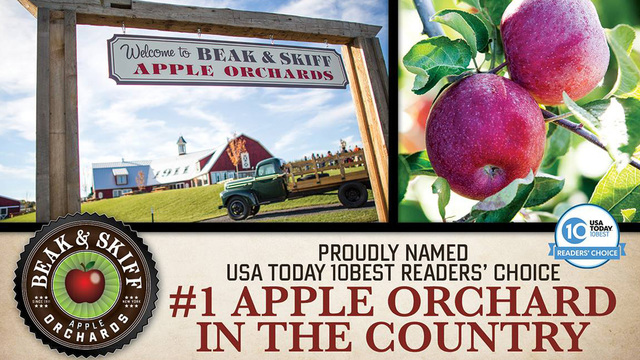 Beak & Skiff voted USA Today's top orchard