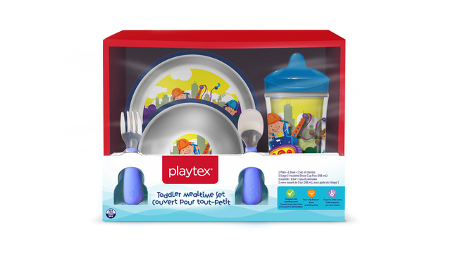 Children's Playtex plates and bowls recalled for possible choking hazard